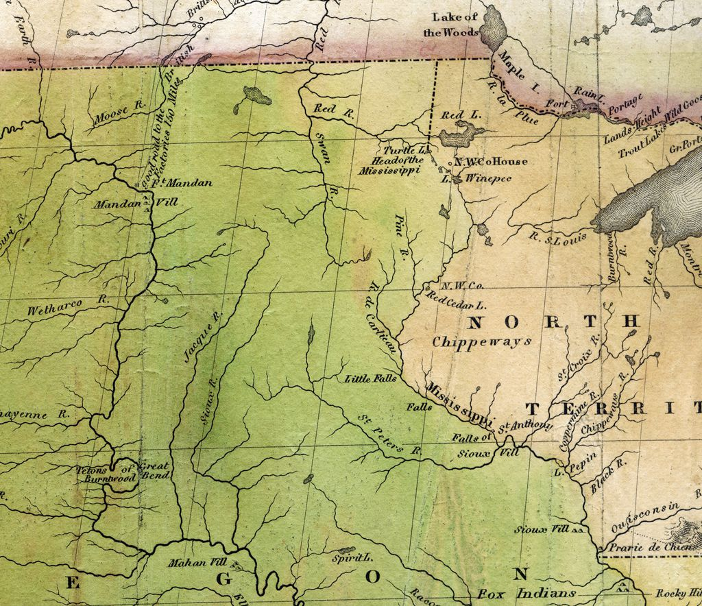 Sioux Territory Map - Bing images